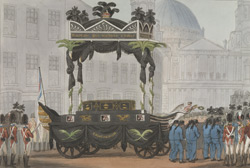 The Funeral Procession of Lord Nelson